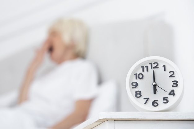 reloj anciana sobre insomnio 1 ¿Qué tal duermes?