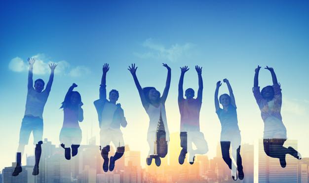 gente feliz amigos energia positva 1 8 consejos para aumentar tu felicidad.