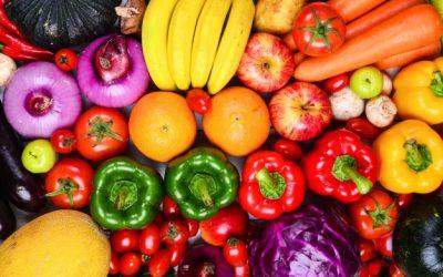¿Qué importancia tienen los colores en las frutas y las verduras?