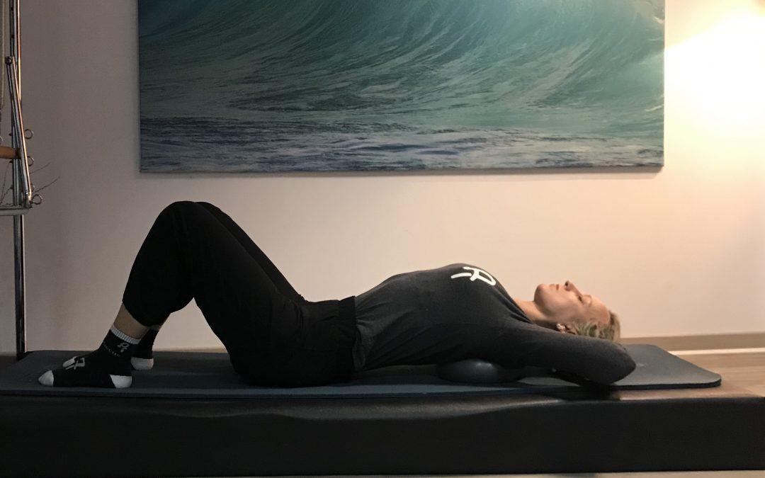 Respira con el método pilates