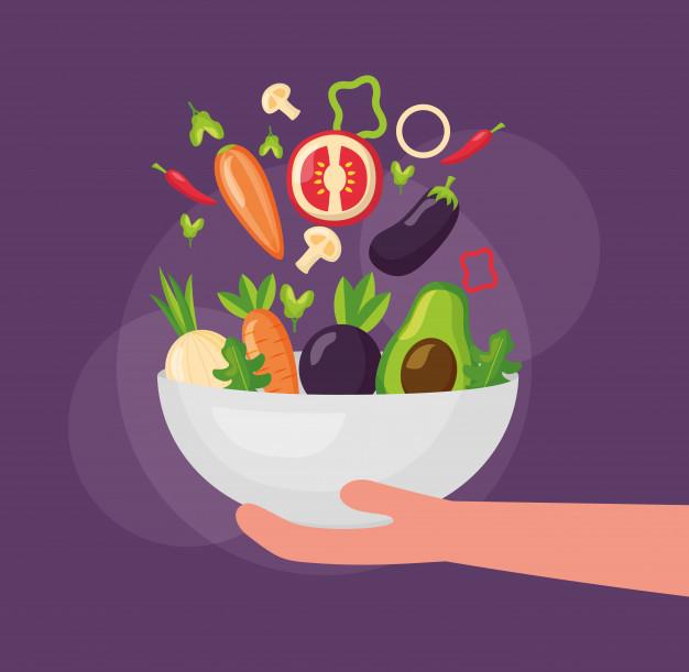 comida sana persona ¿Cómo vencer la pereza?
